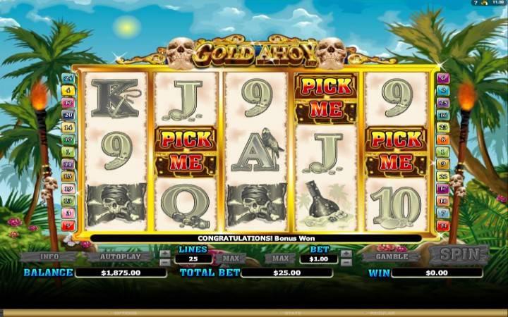 Bonus funkcija, Online Casino Bonus