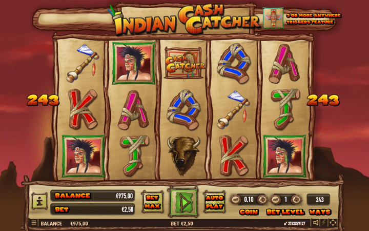 Indian Cash Catcher, Habanero, Online Casino Bonus