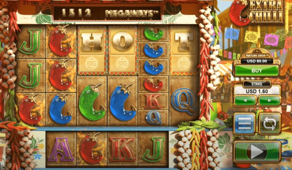 Extra Chilli Megaways, Microgaming, Online Casino Bonus