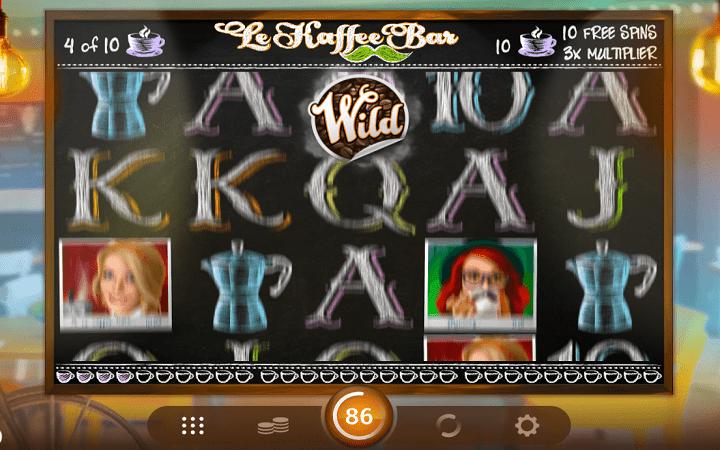 Le Kaffee Bar, Microgaming, Online Casino Bonus